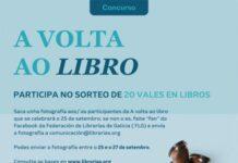 """""""A volta ao libro"""" na librería Trama de Lugo"""