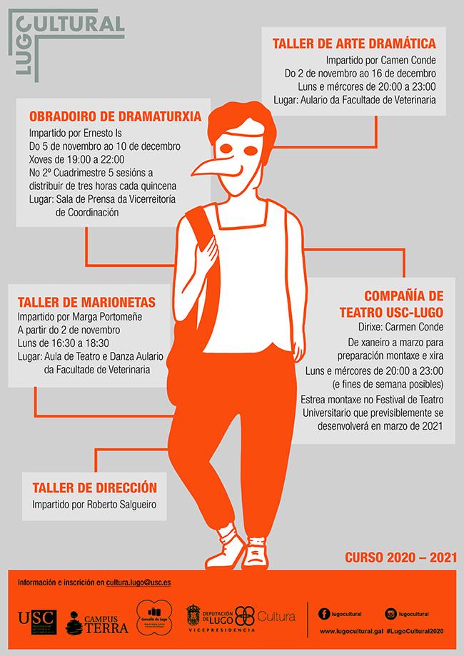 obradoiros da Aula de Teatro do Campus de Lugo