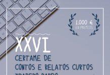 XXVI Certame de Contos e Relatos Curtos Trapero Pardo