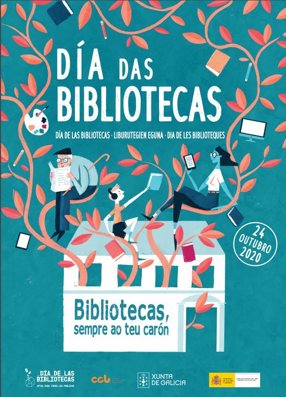 Actividades polo #DíaDasBibliotecas na Biblioteca Pública de Lugo