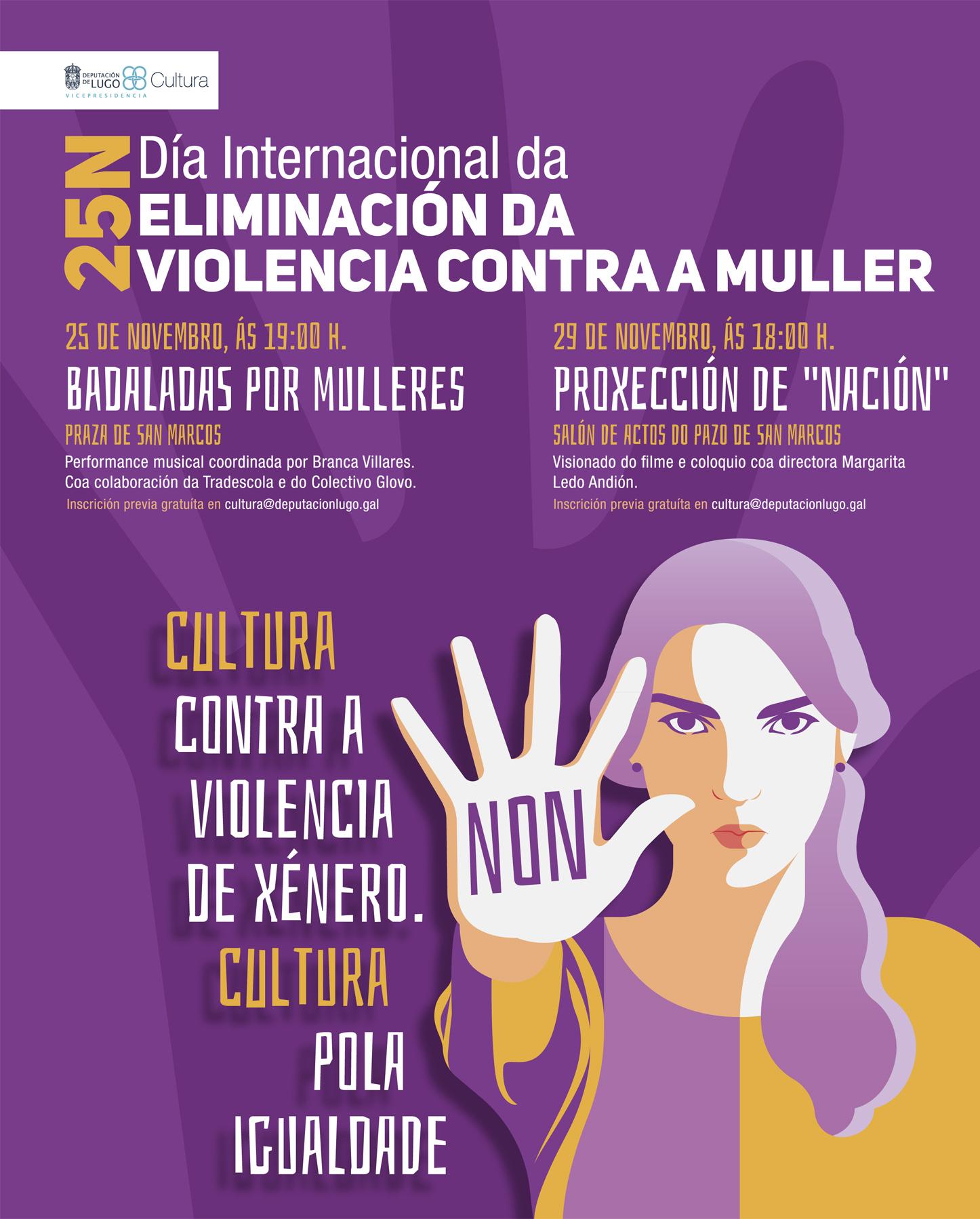 Actividades en Lugo polo #25N