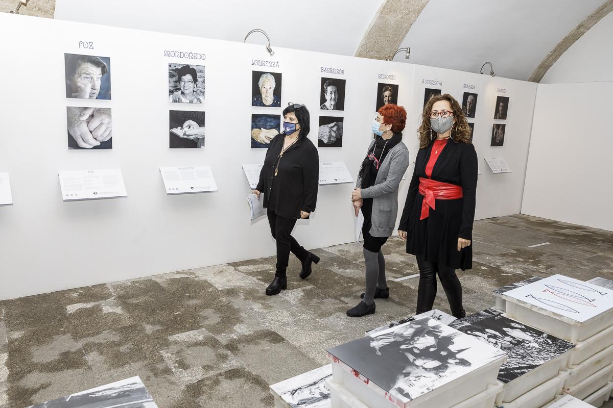 """A mostra """"Mariñas, marosas e maruxainas"""" visibiliza o traballo das mulleres da Mariña"""