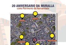 #culturasegura para celebrar o XX Aniversario da Muralla como Patrimonio da Humanidade