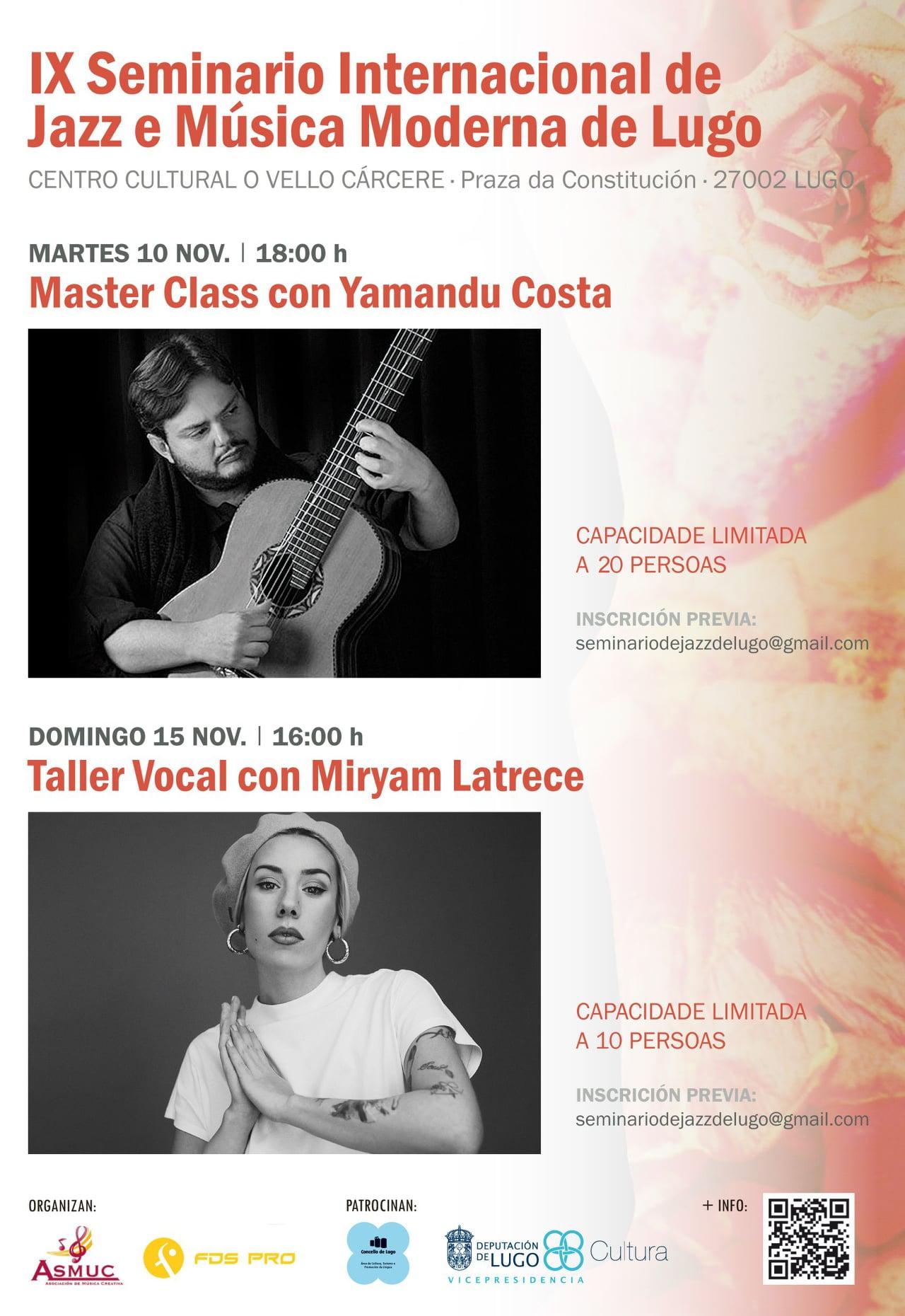 IX Seminario Internacional de Jazz e música Moderna de Lugo