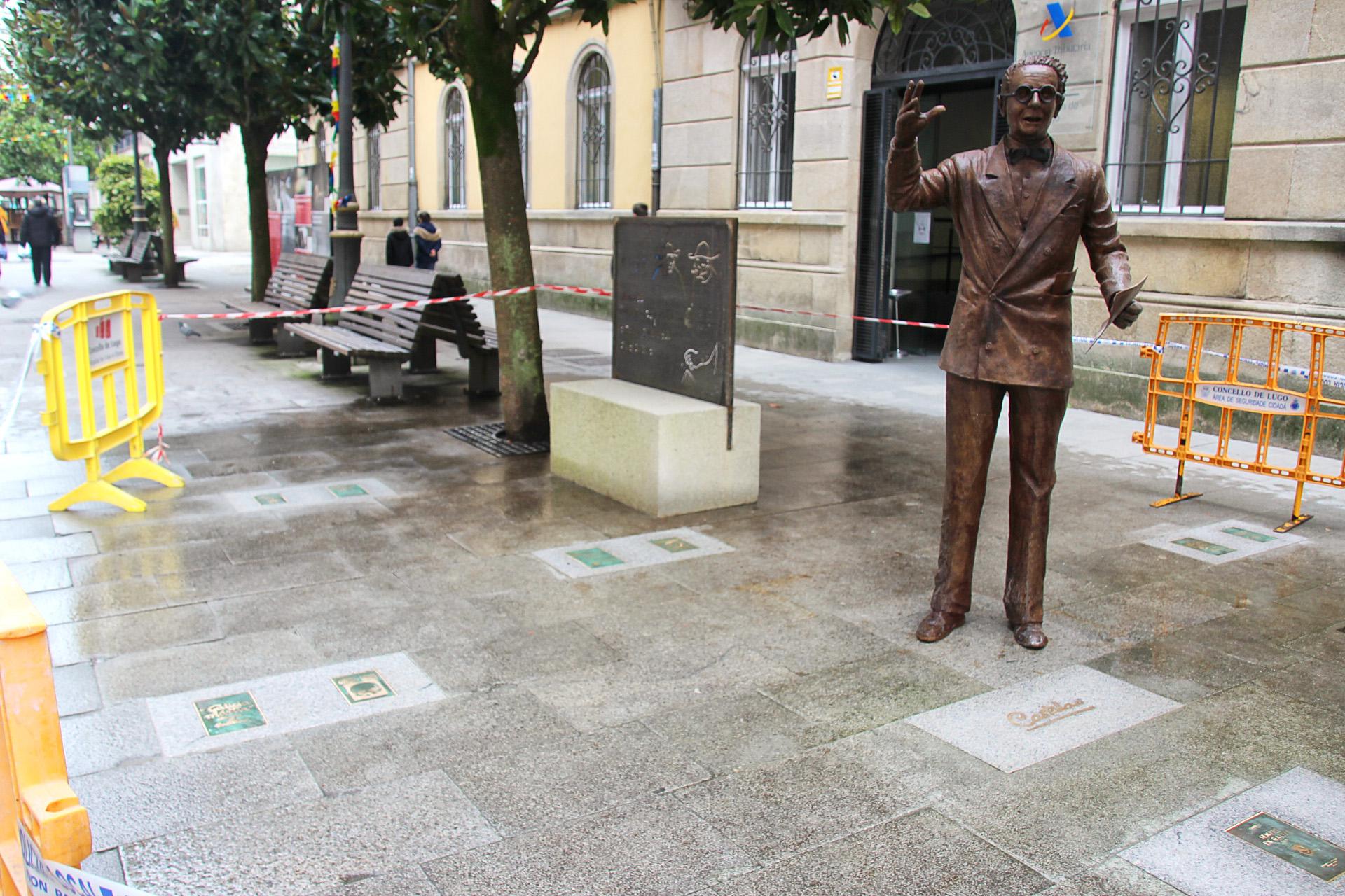 Lugo presume de Castelao