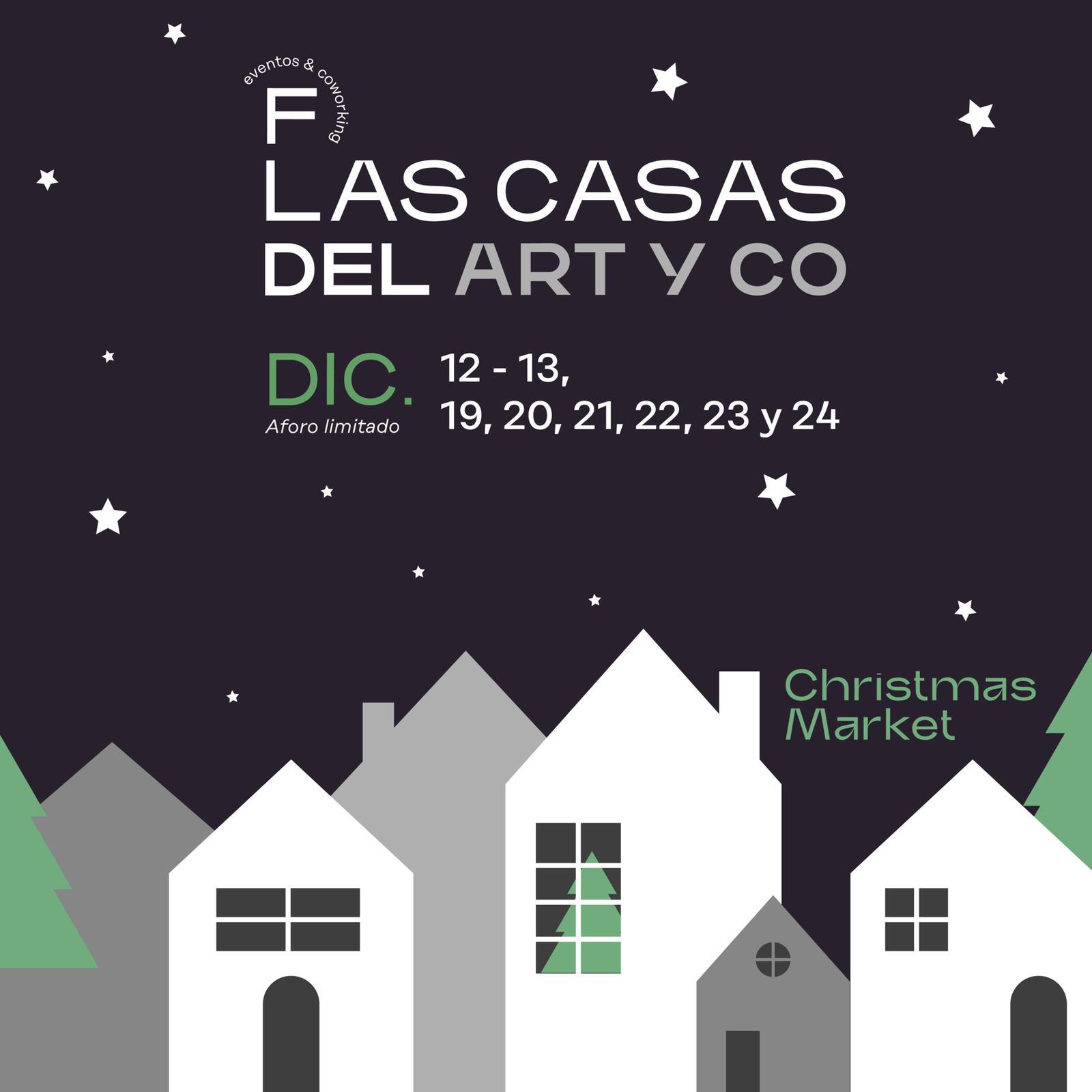 """Artistas gallegos en el market navideño """"Las Casas del Ártyco"""""""