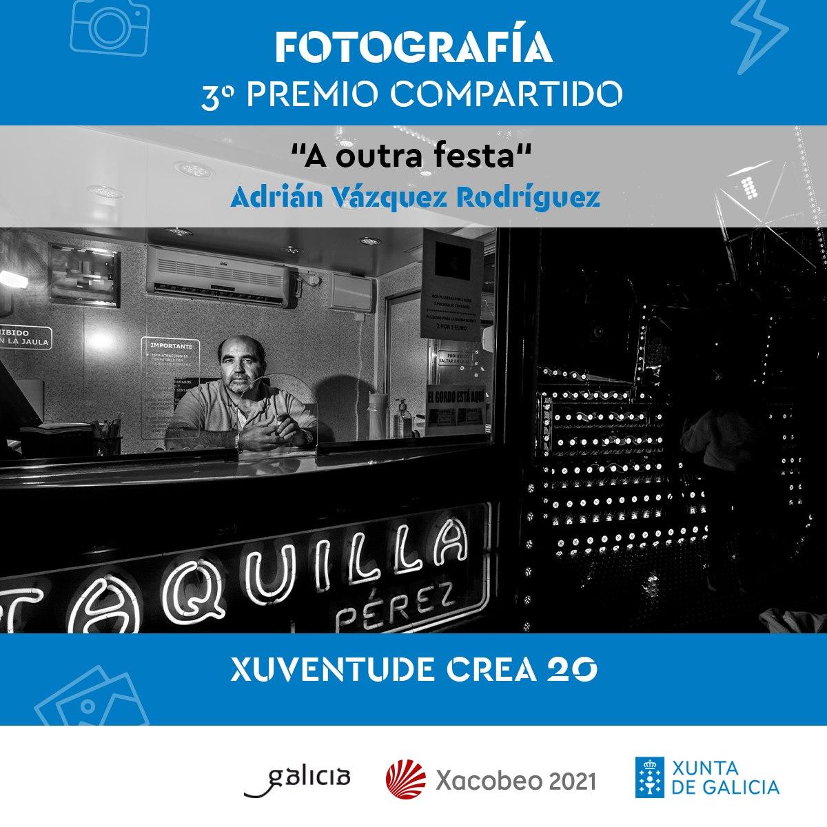 Adra Pallón 3º Premio Xuventude Crea Fotografía 2020