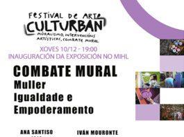 """Exposición do """"Combate Mural"""" do Culturbán 2020"""