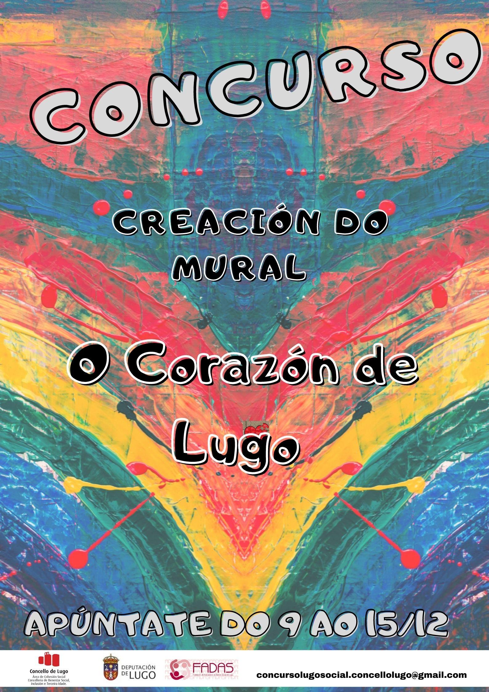 Concurso de graffiti para visibilizar o Lugo social.