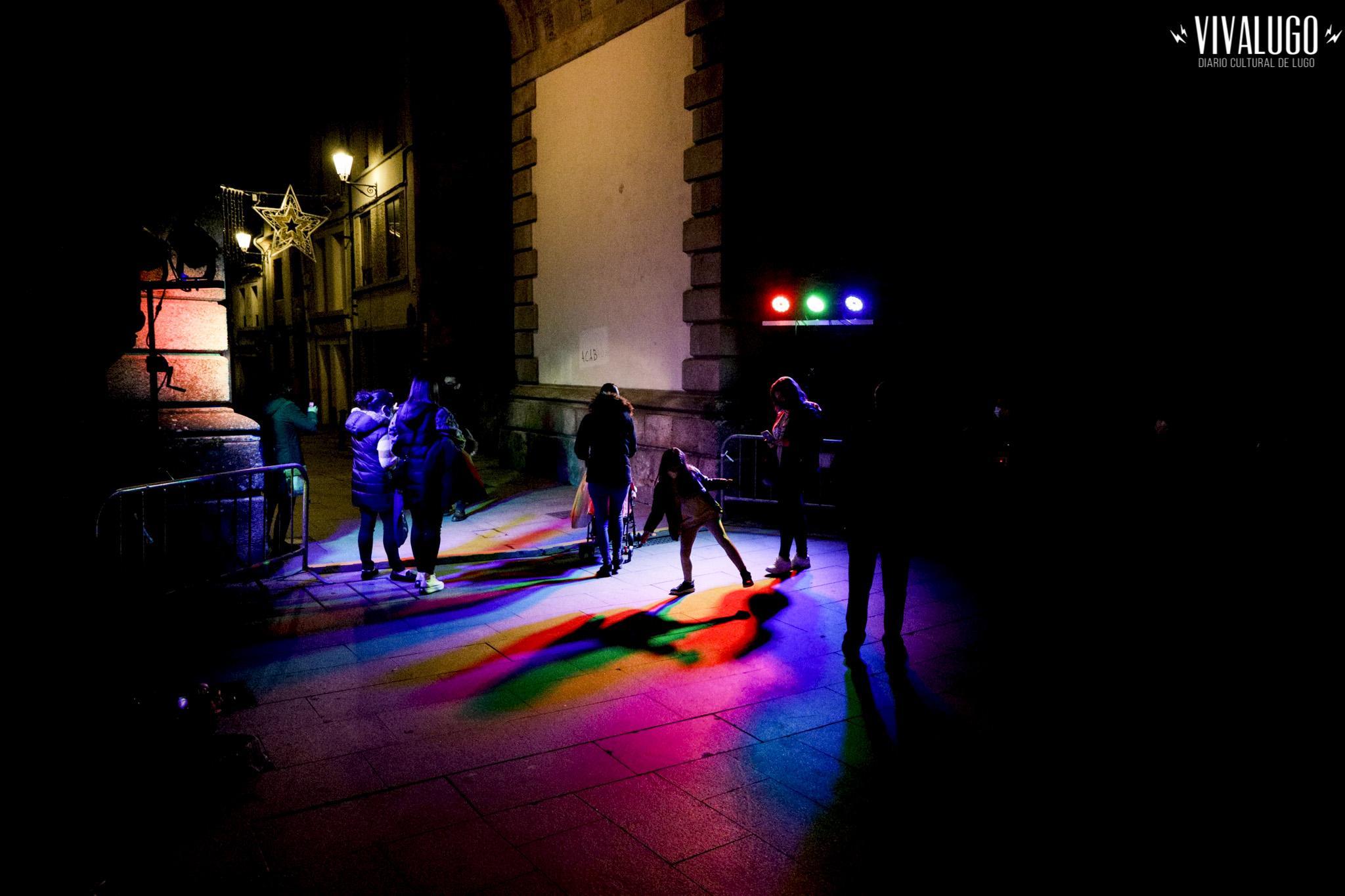 A muralla de Lugo patrimonio e luz da humanidade