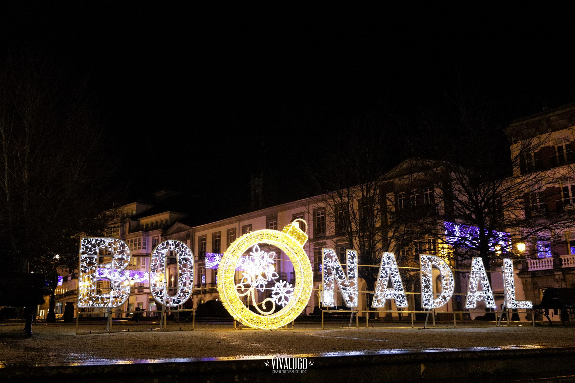 Luces Navidad Lugo