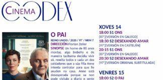 Codex Cinema - Películas do xoves 14/01 en adiante