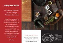Propostas sobre arqueoloxía e gastronomía da Domus do Mitreo