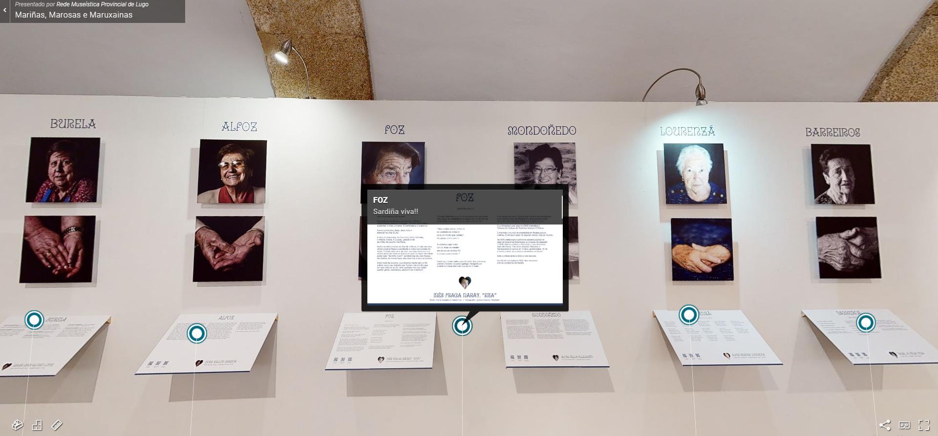 As exposicións da Rede Museística de Lugo on line.