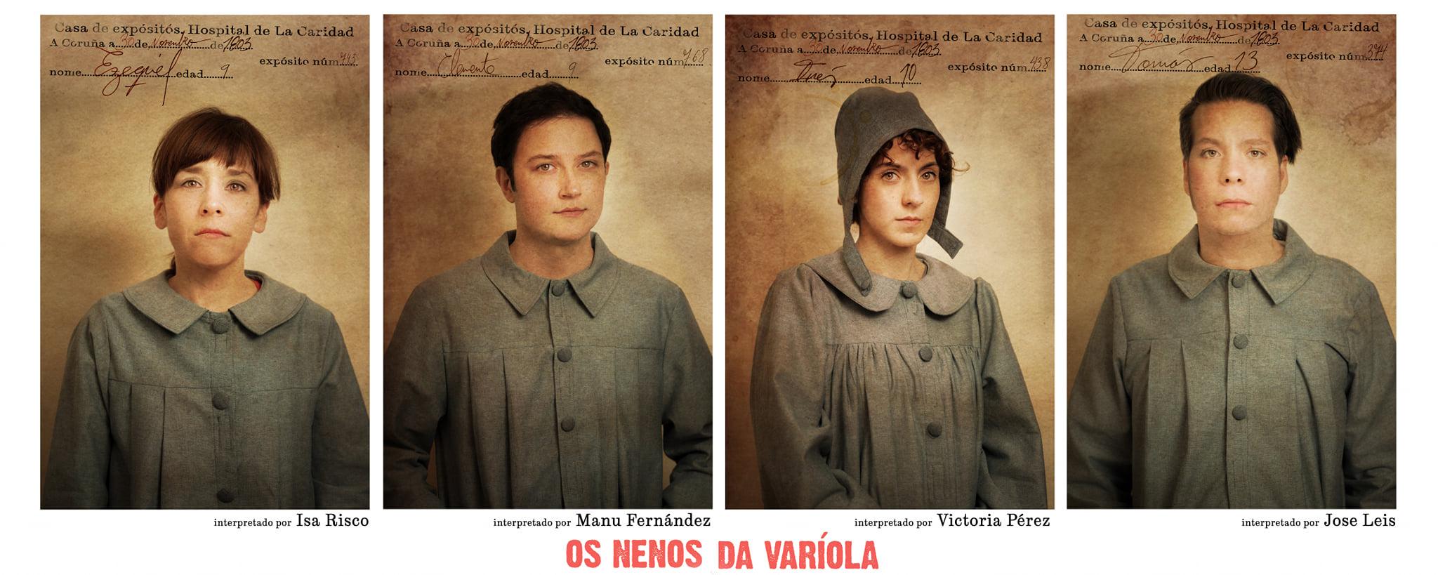 """A adaptación teatral da novela de María Solar """"Os Nenos da Varíola"""" en Lugo"""