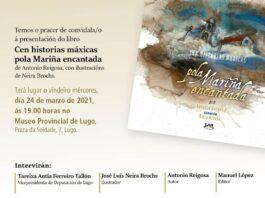 """Presentación do libro """"Cen historias máxicas pola Mariña encantada"""""""