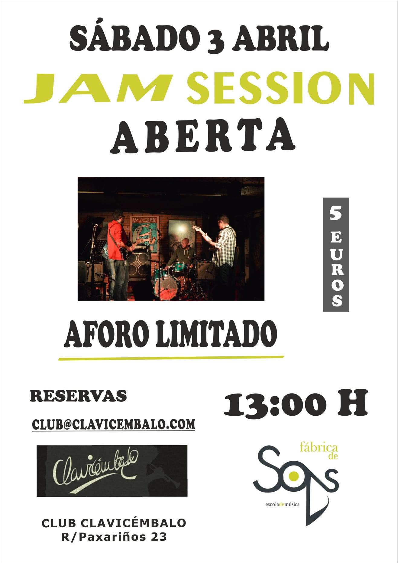 Club Clavicémbalo - Jam Session Aberta