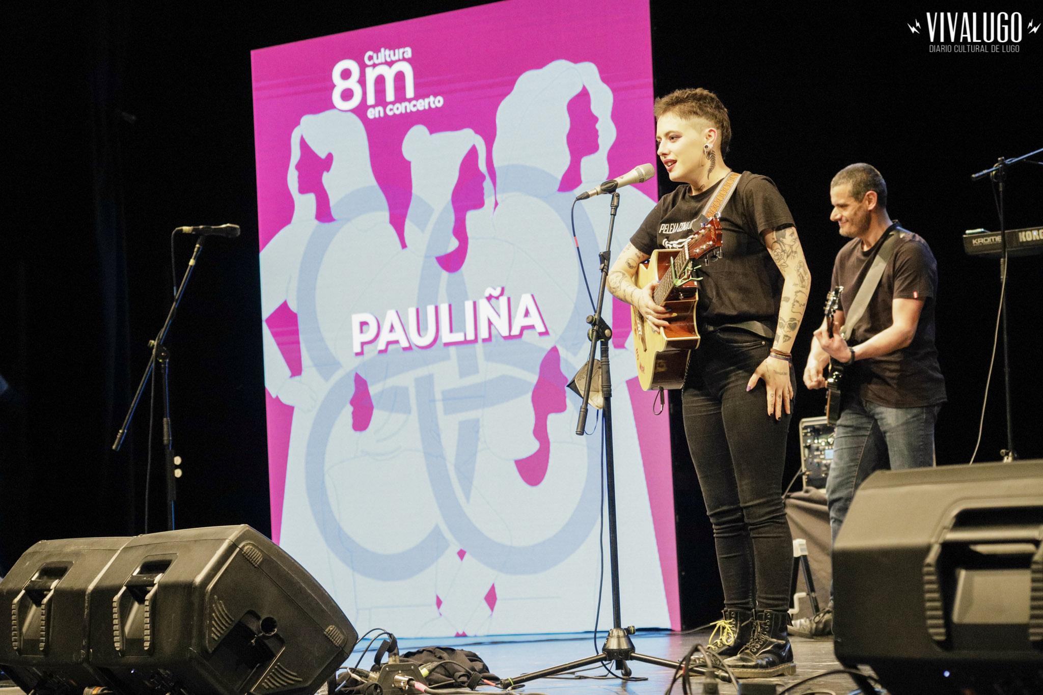 Concertos Lugo 8M. Pauliña e Laura LaMontagne.