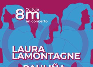 Concertos de Laura LaMontagne, Pauliña e Branca Villares polo 8M