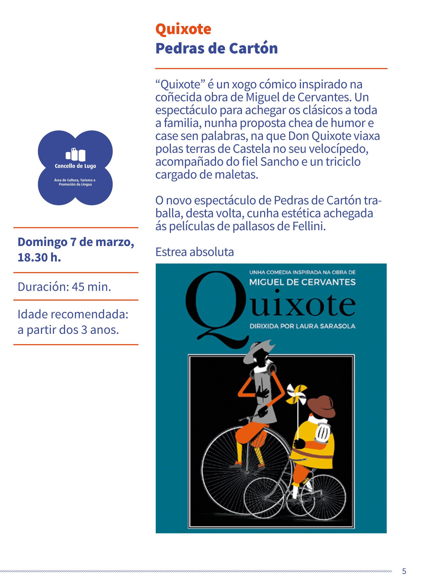 Teatro clásico familiar - Quixote