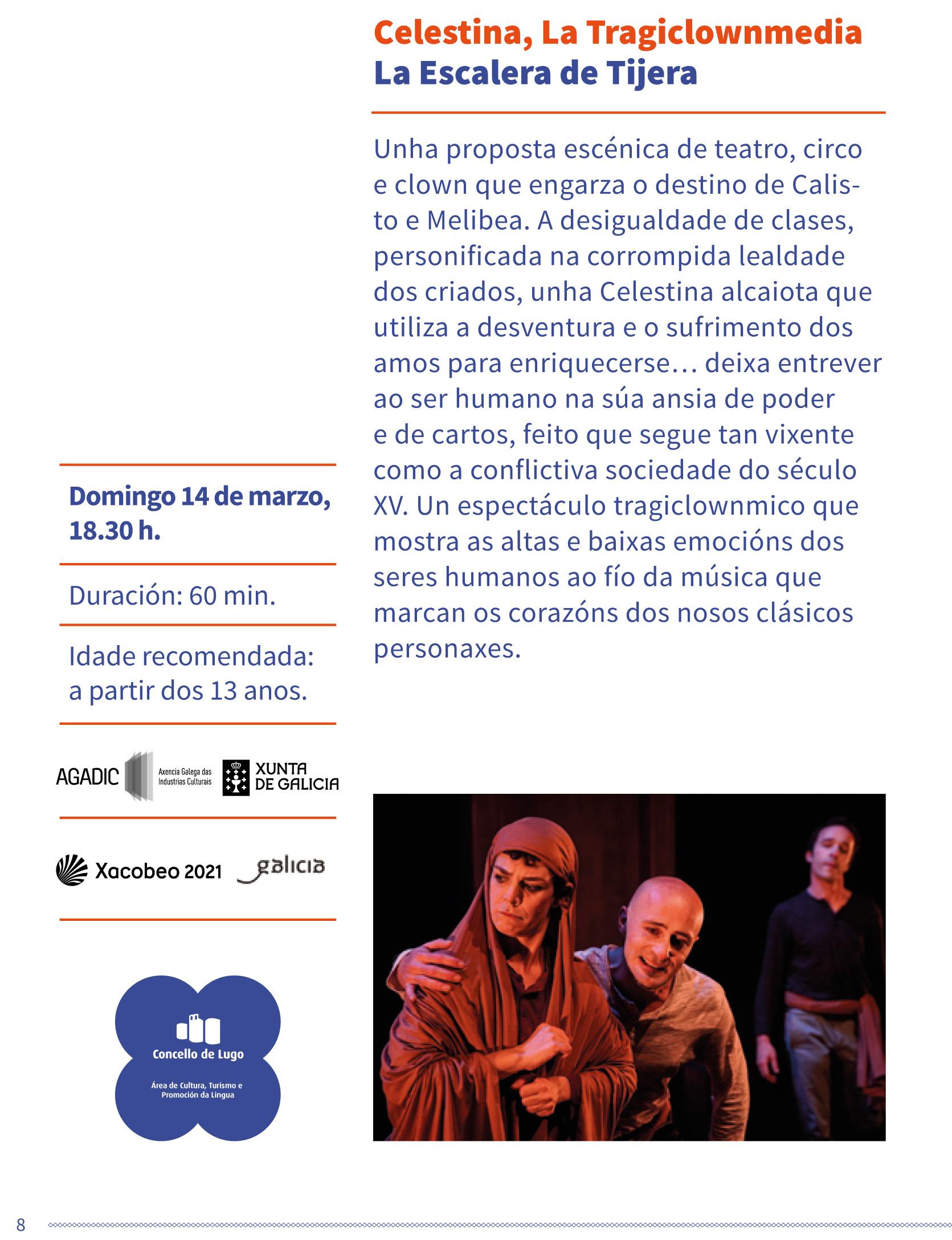 Teatro clásico - Celestina la tragiclownmedia