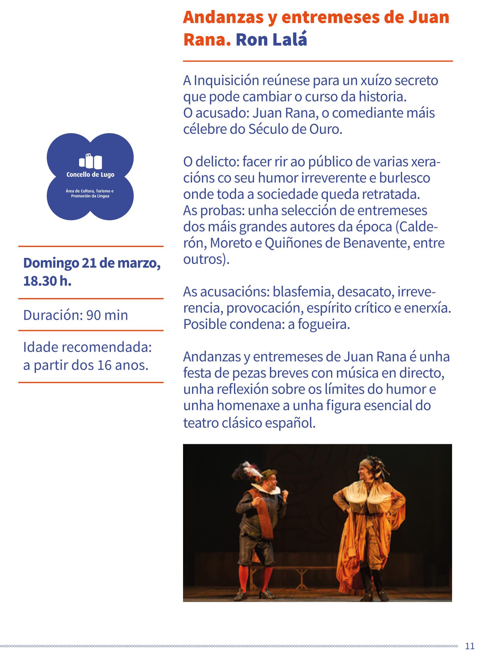 Teatro clásico - Andanzas y entremeses de Juan Rana