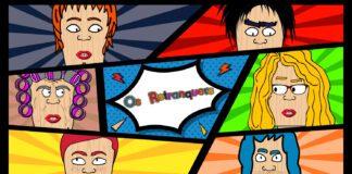 """""""Os Retranquers"""" - Nova web serie animada lucense"""