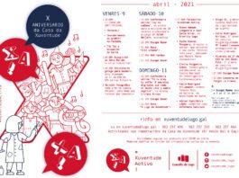 Actividades polo X aniversario da Casa da Xuventude de Lugo
